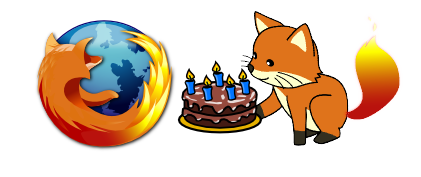 Firefox bday